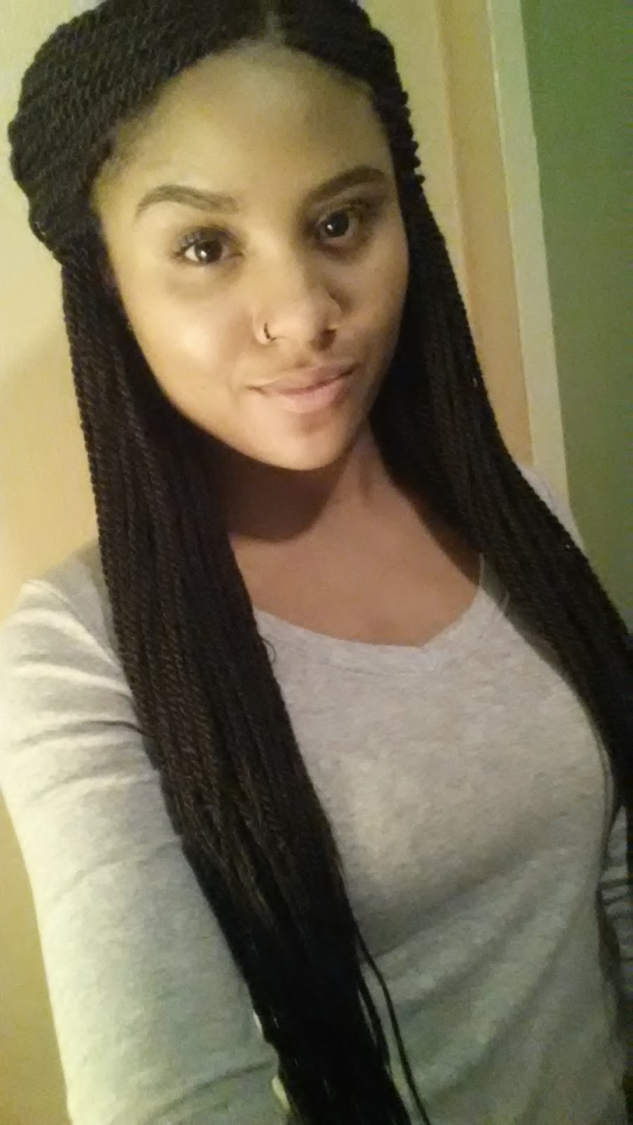 Wondrous My Experience With A Protective Style Senegalese Twists Hairstyles For Women Draintrainus