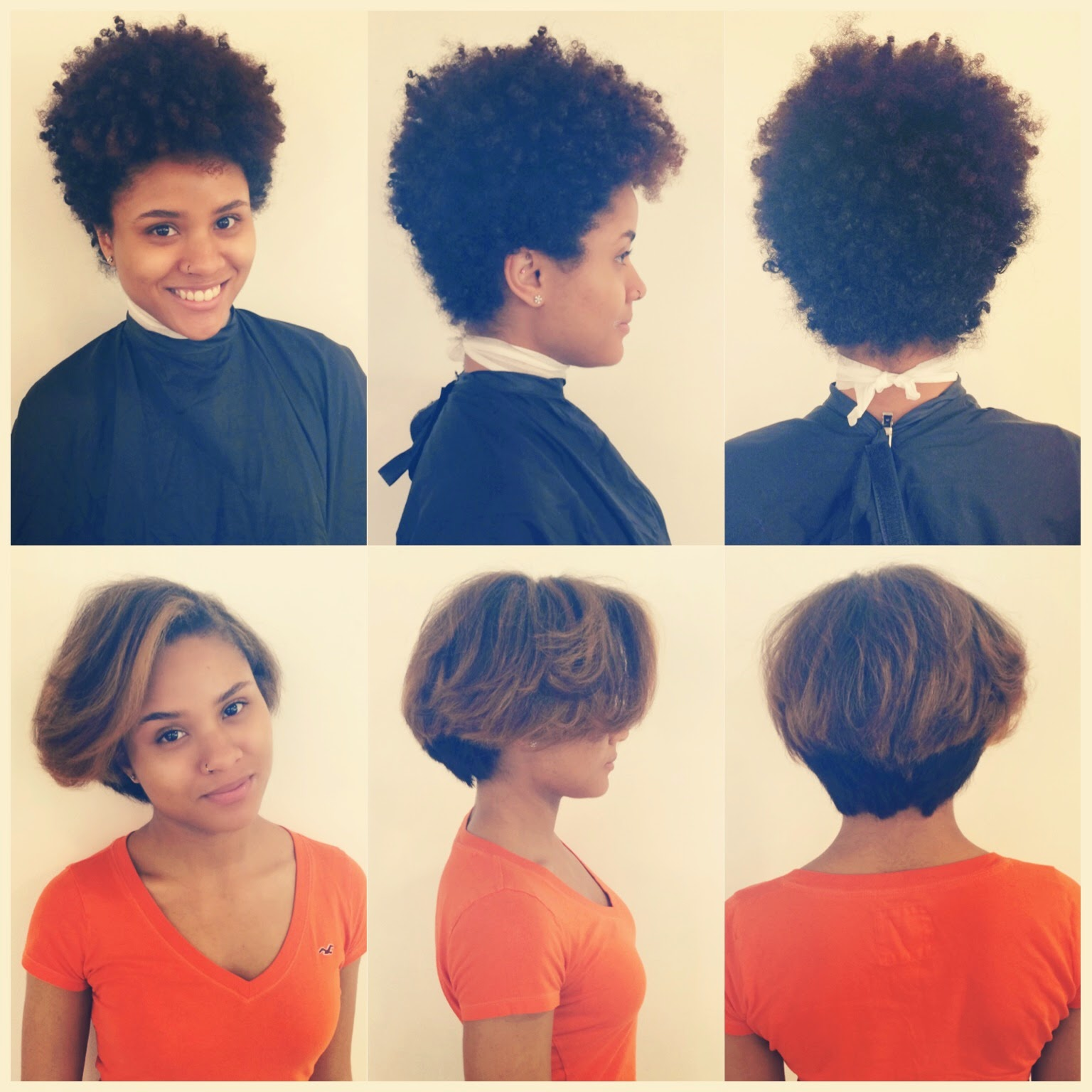 Styling Tapered Natural Hair In The Style Seat With #styledbyreece